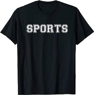 Sports T Shirt - Say Sports Tee