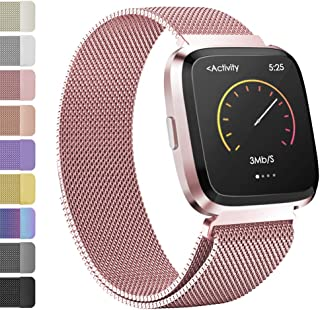 Best fitbit versa lavender rose gold band Reviews
