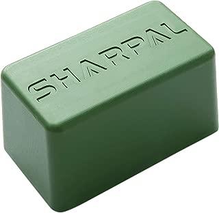 SHARPAL 209H Polishing Compound Fine Green Buffing Compound 8 Oz. Leather Strop Sharpening Stropping Compounds (8 Oz. Green)