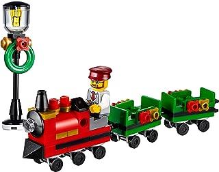 LEGO Holiday Train Ride Minibuild (with Train Ride Driver Minifigure and Lamp Post) No Box
