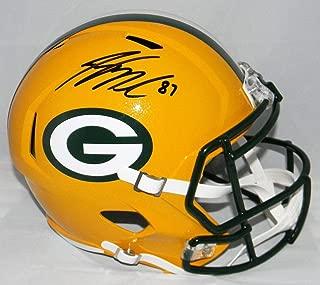 Autographed Jordy Nelson Helmet - Full Size Speed Beckett - Beckett Authentication - Autographed NFL Helmets