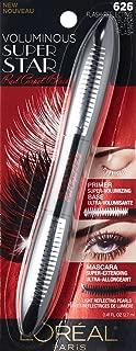 L'Oreal Voluminous Superstar Red Carpet Mascara, 626 Flash Reflecting Mascara, (Pack of 6)