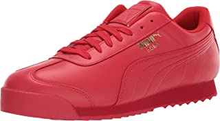 PUMA Womens Unisex-Adult Mens Roma Basic Red Size: