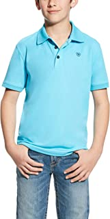 Ariat Boys' Big Tek Polo Shirt