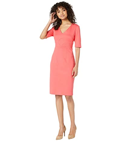 Trina Turk Ashton Dress (Hot Coral) Women