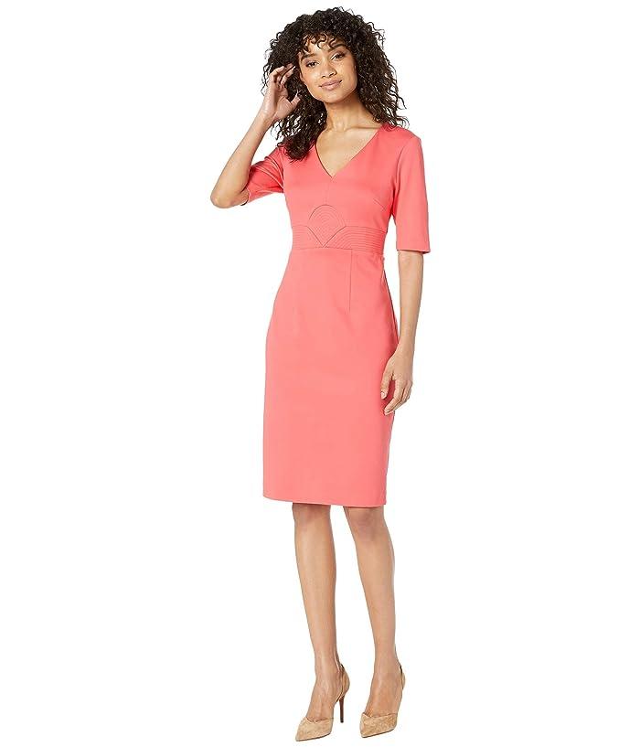 Trina Turk  Ashton Dress (Hot Coral) Womens Dress
