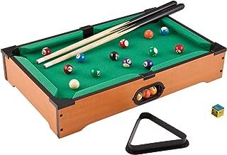 Mini Tabletop Pool Set Children Tabletop Ball Game 21pcs Miniature Billiard Set For Kids Adults