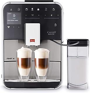 Melitta Barista Smart T Independiente Máquina espresso 1.8L Negro, Acero inoxidable - Cafetera (Independiente, Máquina espresso, 1,8 L, De café molido, 1450 W, Negro, Acero inoxidable)