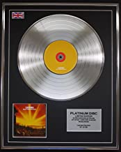 CATATONIA/LTD EDITION CD PLATINUM DISC/EQUALLY CURSED AND BLESSED