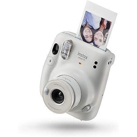 Fujifilm instax mini 11 Ice White   Fotocamera a sviluppo istantaneo   Modalità Selfie   Esposizione Automatica   Foto Formato mini 62 x 46 mm