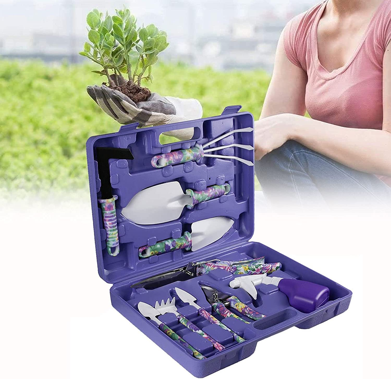 CSYHJRS Discount mail order Lightweight Gardening Tools Kit Ergonomic Very popular Han Pieces 10