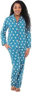 fleece lined flannel pajamas