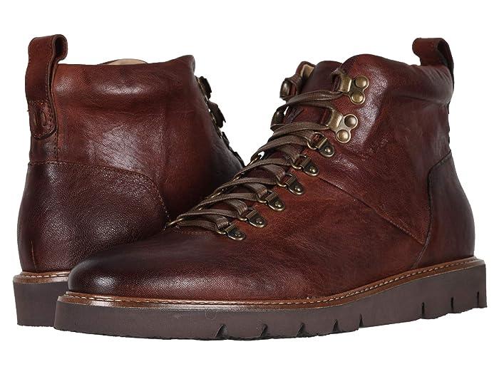 60s Mens Shoes | 70s Mens shoes – Platforms, Boots Ross  Snow Stefano SP Cognac Mens Shoes $345.00 AT vintagedancer.com