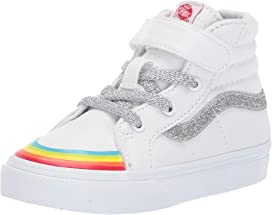 4426537531204 Vans Kids Sk8-Hi Zip (Infant Toddler) at Zappos.com