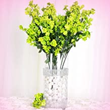 Inna-Wholesale Art Crafts New 384 Lime Green Silk Baby Breath Filler Decorating Flowers Centerpieces Bouquets - Perfect for Any Wedding, Special Occasion or Home Office D?cor