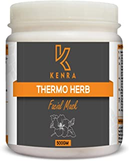 Kenra Thermoherb Heat Therapy Face pack For Skin Tightening With Hibiscus, Red Ochre & Ashwagandha (500gm)