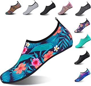 HMIYA Aqua Socks Beach Water Shoes Barefoot Yoga Socks...