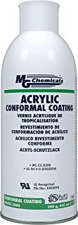 MG Chemicals 419C-340G Acrylic Lacquer Conformal Coating, 340g (12 Oz) Aerosol Can, Clear