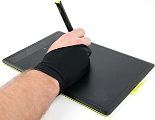 DURAGADGET 2本指anti-fouling図面グローブ高伸縮性のライクラ–For use withフォト' Wacom Intuos Pen and Touch (Small, cth-490pk-s)   Pro ctl671グラフィックスタブレット