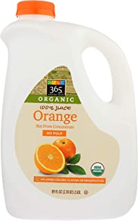 365 Everyday Value, Organic Orange Juice, Not From Concentrate, 89 fl oz