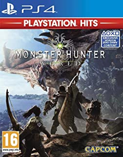 MONSTER HUNTER WORLD PSH - PS4