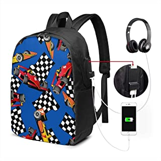 Mochila con Interfaz USB Durable Luggage Backpacks Astronaut Dabbing for Business Work School with USB 17In