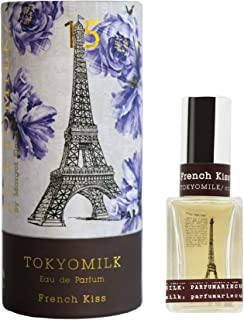 TokyoMilk by Margot Elena - French Kiss No. 15 Parfum with Gift Box - Mandarin, Tuberose, Gardenia & Vetiver | 1 fl oz