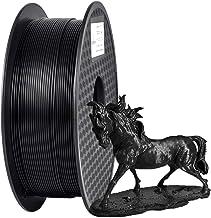 Filamento PLA 1.75 mm, GIANTARM Impresora 3D PLA Filamento 1kg Spool, Negro