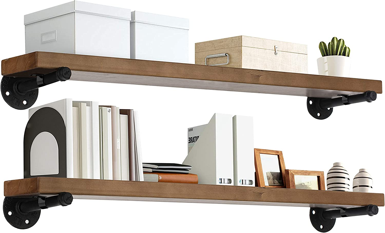 TEN49 Industrial 最安値 Wood Shelf - 36