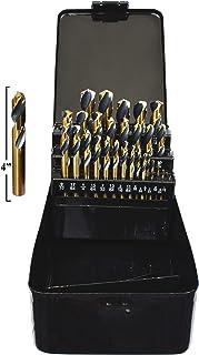 BMC Blow Mold Case XtremepowerUS 115-Piece Titanium Nitrate Coated Drill Bit Set