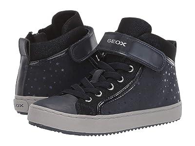 Geox Kids Jr Kalispera 18 (Little Kid/Big Kid) (Navy) Girls Shoes