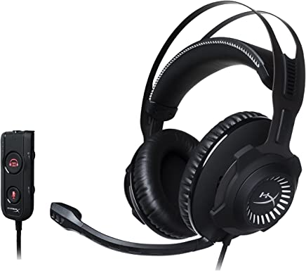 $94 Get HyperX Cloud Revolver S Gaming Headset with Dolby 7.1 Surround Sound - Steel Frame - Signature Memory Foam, Premium Leatherette, for PC, PS4, PS4 PRO, Xbox One, Xbox One S (HX-HSCRS-GM/NA) (Renewed)