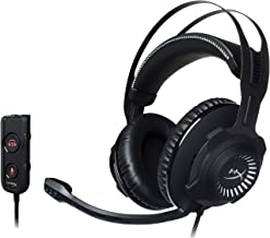 HyperX Cloud Revolver S Gaming Headset with Dolby 7.1 Surround Sound - Steel Frame - Signature Memory Foam, Premium Leatherette, for PC, PS4, PS4 PRO, Xbox One, Xbox One S (HX-HSCRS-GM/NA) (Renewed)