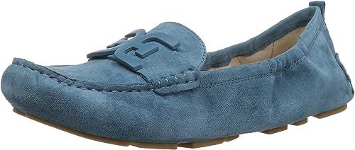 Sam Edelman Wohombres Farrell Moccasin, Denim azul, 8.5 M US