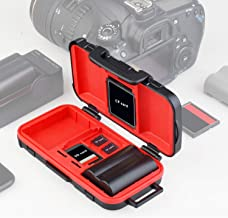 Professional Memory Card Case Holder SD XQD TF CF Compact Flash Micro SD Water-Resistant Camera DSLR Battery Organizer Storage | Media Storage Holder