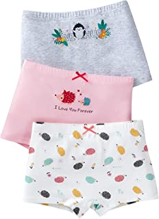 Multi 5 Pack Girls Briefs Knickers Underwear 100/% Cotton Unicorn Stripes Leopard 7-13 Years LEOPARD