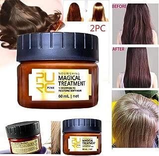 Indexshop Advanced Molecular Hair Roots Treatment Professtional Hair Conditioner,Hair Detoxifying Hair Mask, Deep Conditioner Molecular, Recover Elasticity Hair for Dry or Damaged Hair 60ml