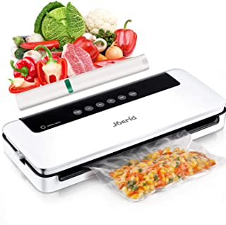 Upgraded Vacuum Sealer Machine,Joerid Vacuum Sealer for Food Save, Automatic Vacuum Air Sealing System with Dry&Moist Mode...