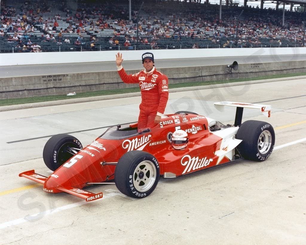 SPORTSPHOTOSUSA Max 53% OFF Danny Sullivan Indianapolis 500 8x10 INDY Photo Free shipping on posting reviews