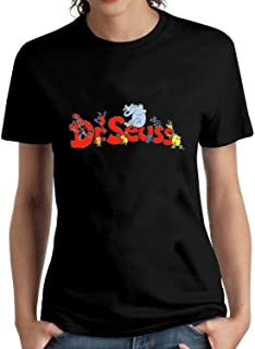 Krissry Women's&Girl's&Lady's&Youth's Dr Suess T Shirt