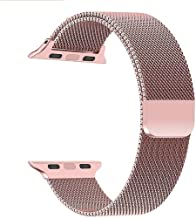 Priefy Watch Strap Magnetic Closure Compatible with Watch Series 4 and Series 5 {40mm Rose Gold}