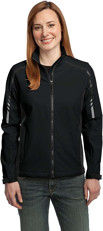 Port Authority - Ladies Embark Soft Jacket. Black D Superlatite Shell L307 price