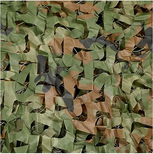 Woodland Camouflage Net Camouflage Net Camouflage sur le Net Camping Armée Chasse Tir écran Solaire Net, Décoration de Fête à Thème (Couleur   6.5M×6.5M)