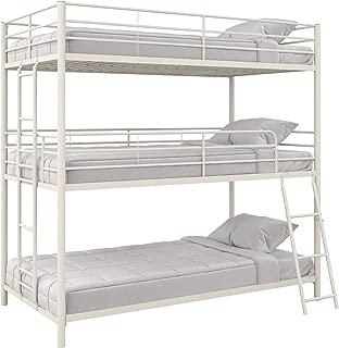 Max & Finn Triple Bunk bed, Twin/Twin/Twin, White