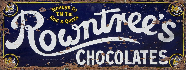 ZMKDLL Retro Tin Sign Groceries /& Dry Good Distressed Vintage Retro Enamel Metal Tin Sign Wall Plaque Bar Restaurant 4x16 Inch