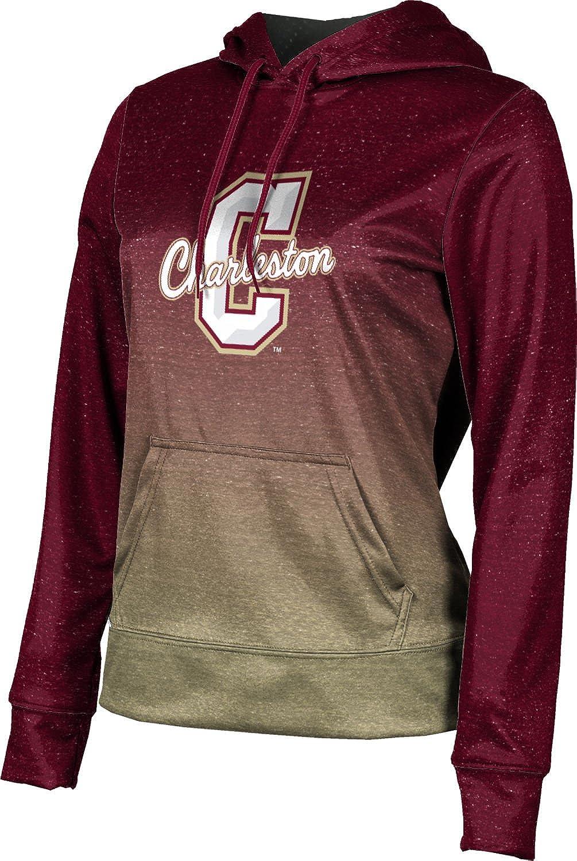 ProSphere College of Charleston University Girls' Pullover Hoodie, School Spirit Sweatshirt (Ombre)