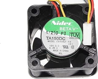 NIDEC 4cm C34957-58 12V 0.29A 3Wire For IBM xSeries 325 335 P/N:24P1117 24P1118 Server Fan