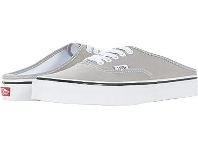 Vans Authentic Mule (Drizzle/True White) Shoes