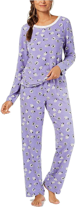 Charter Club Thermal Fleece Pajama Set Women's