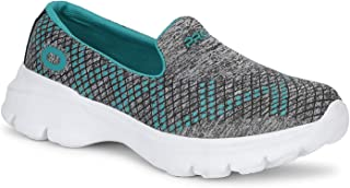 Pro by Khadim's Women Turquoise Casual Slip-On Sneakers